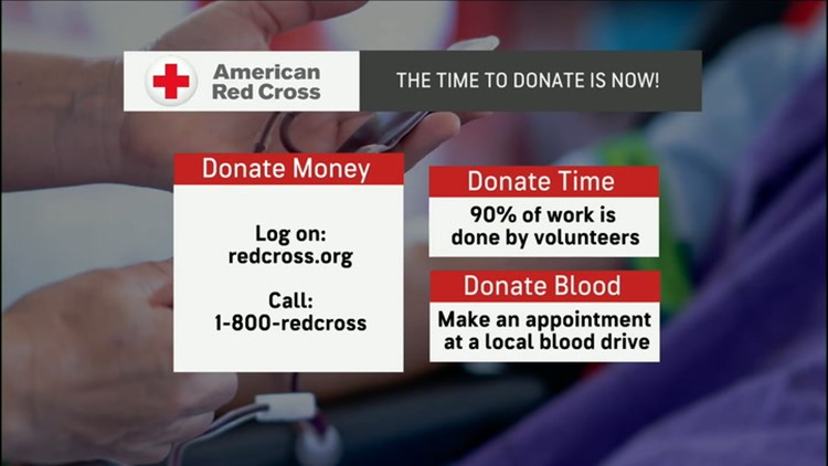 Severe weather can interfere with critical need for blood donations