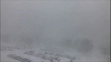 Powerful winds and lake-effect snow hammer upstate New York