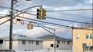 Wild winds whip up in Northeast New Jersey