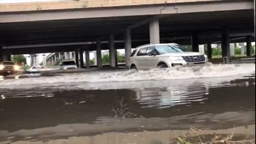 High floodwaters ravage Houston