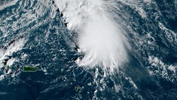 Sebastien may become 1st 'S' hurricane in Atlantic since Sandy