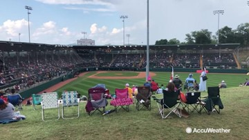 The perfect weather for fans at the Little League World Series