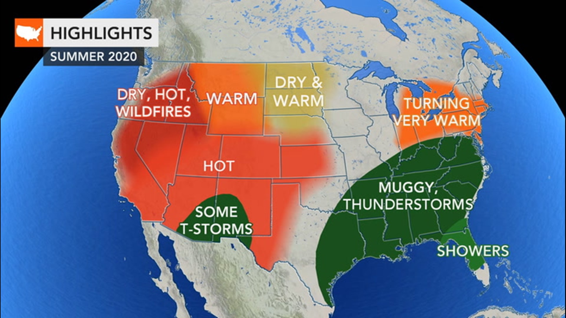 Us Weather Map For Saturday Summer starts Saturday! Here's what weather forecasters expect