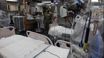 U.S. Navy ship to provide New York City hospitals relief