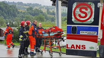 Lightning strike kills five, injures more than 100 on mountain in southern Poland