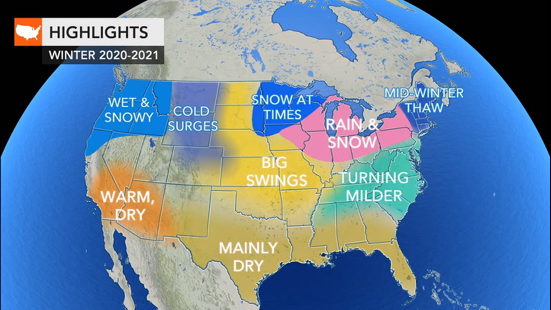 Weather Over Christmas 2020 Winter is coming; here's the winter weather forecast for around