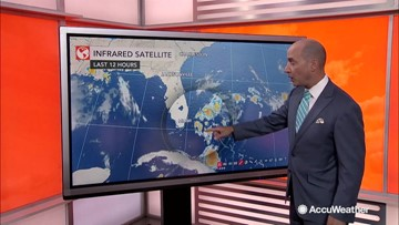 Multiple tropical systems getting better organized in the Atlantic