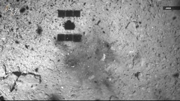 Japan Confirms It Has Created The First Artificial Crater on an Asteroid