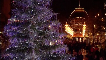 Tree-mendous! You Have to See This Christmas Tree Covered in 3,000 Swarovski Crystals