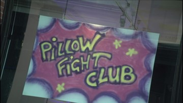 Pillow Fight Club Is Real & Gives People The Chance To Wack Each Other Just Like They Did as Kids