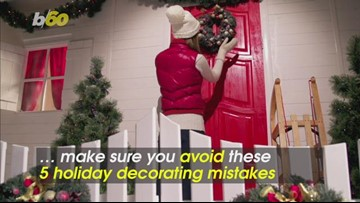 5 Holiday Decorating Mistakes You Didn't Know You Were Making