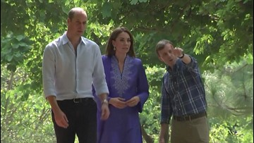 Prince William Brings Humor to Scary Situation