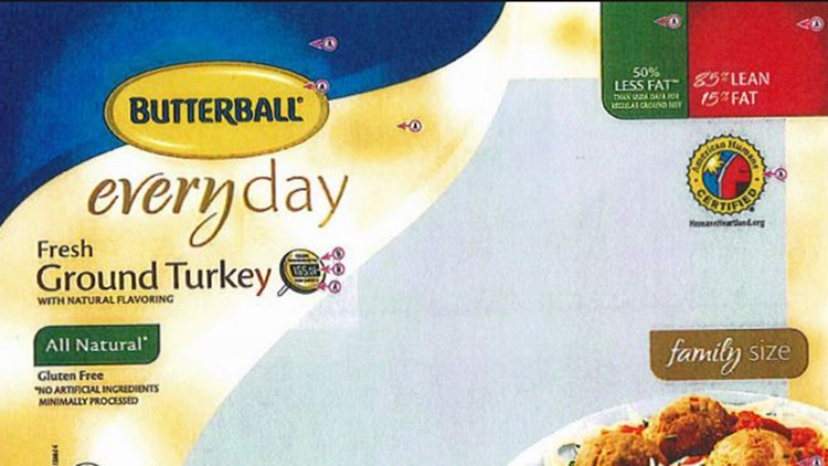 Butterball turkey recall