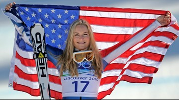 Lindsey Vonn closes career with bronze medal
