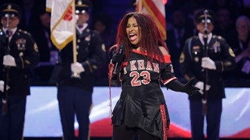 Chaka Khan's NBA All-Star game National Anthem triggers strong opinions
