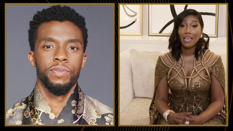 Chadwick Boseman's wife delivers powerful Golden Globes acceptance speech