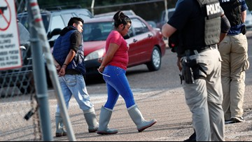 Largest US immigration raids in a decade net 680 arrests | wusa9 com