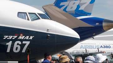 Boeing 737 Max grounding hovers over Paris Air Show