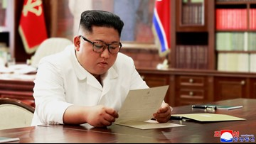 North Korea says leader Kim receives 'excellent' letter from Trump