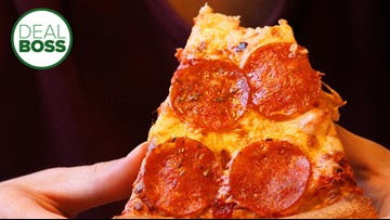 How to get 50 percent off pizza until March 24