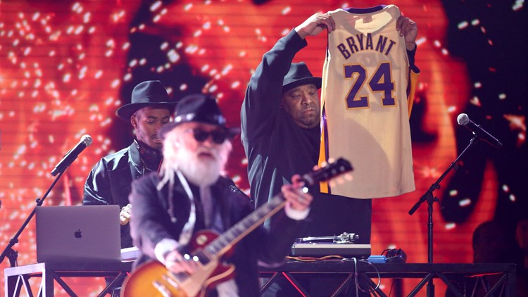 Kobe Bryant tribute jersey 62nd Annual Grammy Awards - Show