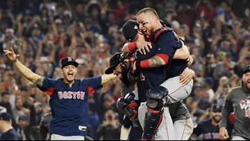 Red Sox dominate Dodgers in Game 5 to win World Series