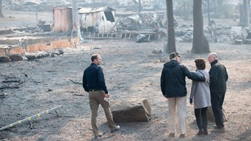 Death toll rises to 76 in California fire with winds ahead