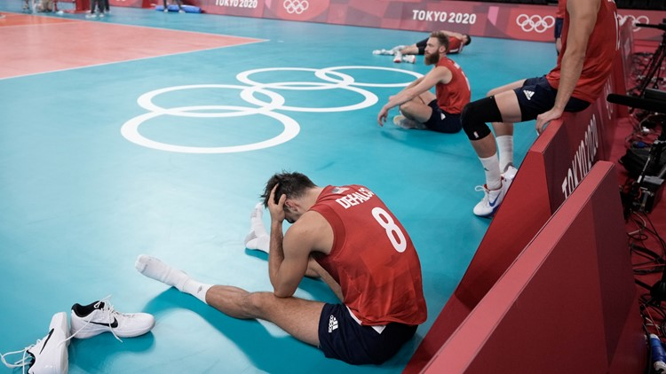 U.S. men's volleyball eliminated early at Olympics