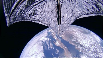 LightSail spacecraft deploys sails, sends back stunning images of Earth