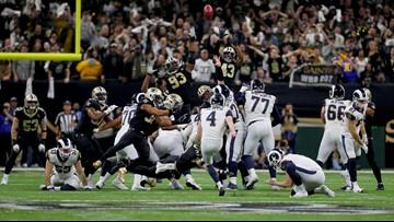 Blown call, Zuerlein's 57-yard FG send Rams to Super Bowl