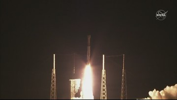 Liftoff! Boeing test launches crew capsule from Cape Canaveral