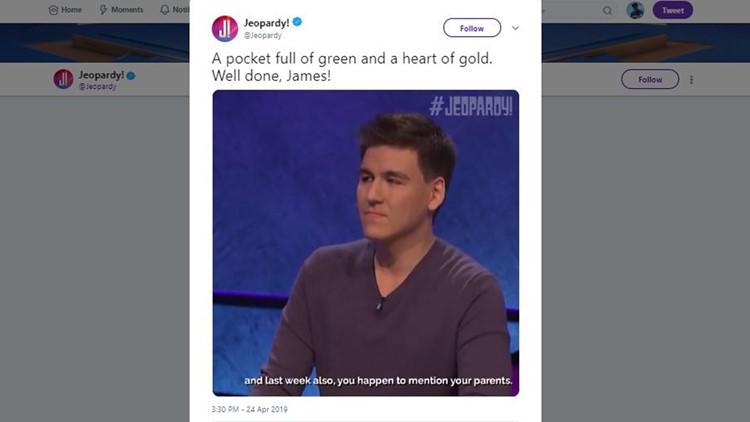 James Holzhauer Twitter screen grab