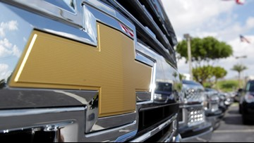 GM recalls 650,000 trucks, SUVs because brakes can suddenly engage