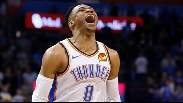 Russell Westbrook dedicates historic triple-double to Nipsey Hussle
