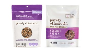 Purely Elizabeth recalls granola products for possibly containing plastic, glass or rocks