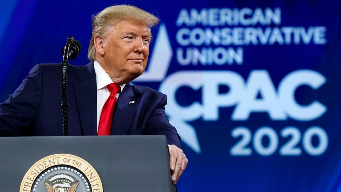 Trump speaks at CPAC in Orlando