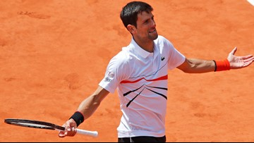Djokovic's Grand Slam streak ends in French Open semifinal