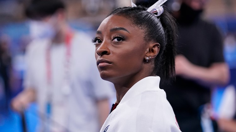 Olympic champion Simone Biles out of gymnastic finals