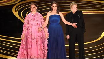 Amy Poehler, Tina Fey, Maya Rudolph rock Oscars opening despite no host