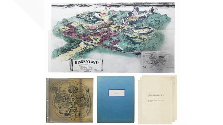Disneyland prospectus Van Eaton Galleries