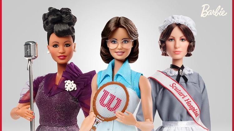 Billie Jean King, Ella Fitzgerald latest to join Barbie's inspiring women line