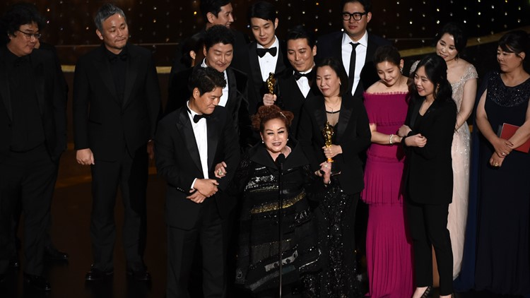 Parasite wins best picture 92nd Academy Awards - Show
