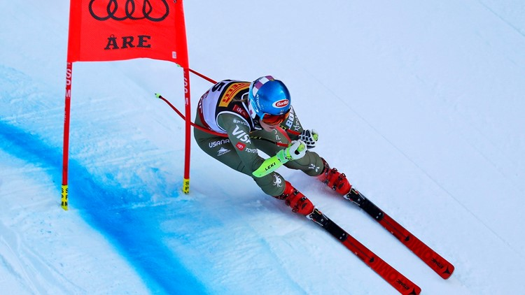 Mikaela Shiffrin Sweden Alpine Skiing Worlds