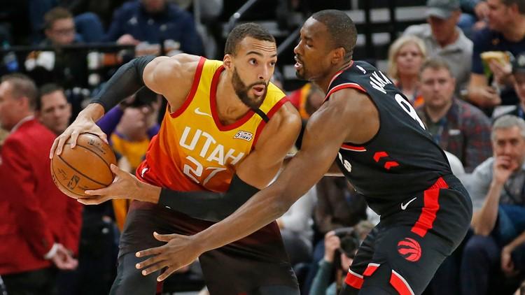 Raptors Jazz Basketball