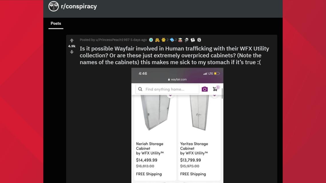 Wayfair Viral Human Trafficking Claims, Wayfair Furniture Quality Reddit
