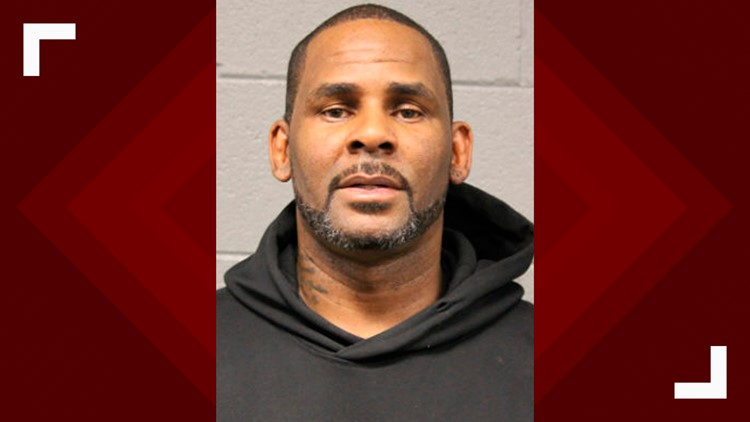 R Kelly mugshot Chicago Police February 2019