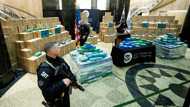 Huge Cocaine Seizure