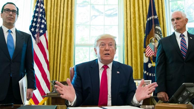 US Iran Trump sanctions Oval office