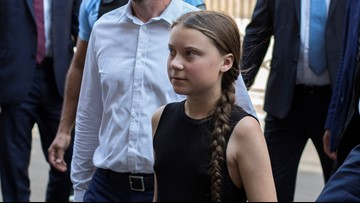 Teen climate activist arrives in US by sailboat to 'make a stand'