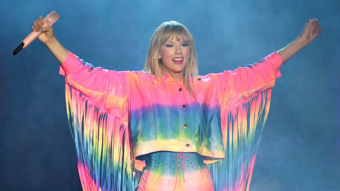 Taylor Swift shares holiday memories in new 'Christmas Tree Farm' video